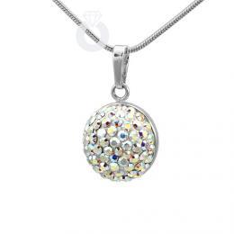 SILVEGO stшнbrnэ pшнvмsek pщlkuliиka Crystal AB se Swarovski(R) Crystals