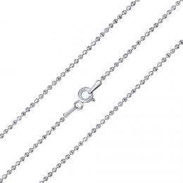 St��brn� kuli�kov� �et�zek diamond cut 1,5 mm