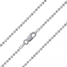 St��brn� kuli�kov� �et�zek diamond cut 2 mm