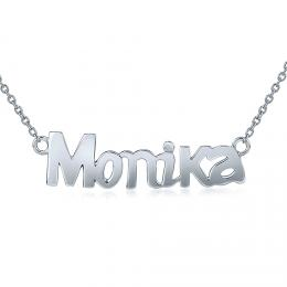 St��brn� �et�zek se jm�nem Monika - zv�t�it obr�zek