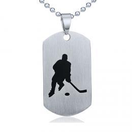 Ocelov� p��v�sek Hokej - v�etn� �et�zku 60cm