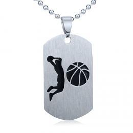Ocelovэ pшнvмsek Basketbal - vиetnм шetнzku 60cm - zvмtљit obrбzek