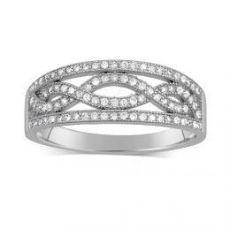 Støíbrný prsten AIDA
