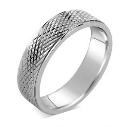 LґAMOUR Snubnн prsten s rytнm z oceli