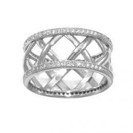 Modern� st��brn� prsten ESPERANZA