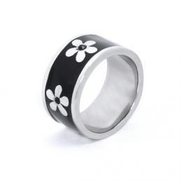 Stylov� prsten s chirurgick� oceli Kv�tina