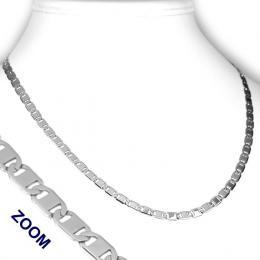 Ocelový plochý náhrdelník - sleva
