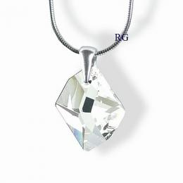St��brn� p��v�sek Cosmic Crystal 20mm se Swarovski Elements