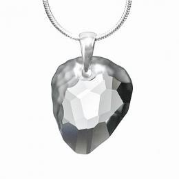 Stшнbrnэ pшнvмsek - Rock Black Diamond se Swarovski Elements