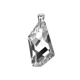 SILVEGO støíbrný pøívìsek De-Art 24mm Argent se Swarovski® Crystals