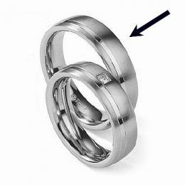 Ocelovэ prsten - snubnн - pro muћe RC2021-M