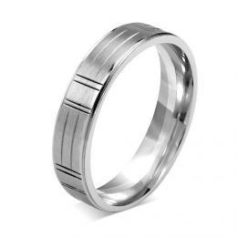 L�AMOUR snubn� ocelov� prsten 5mm