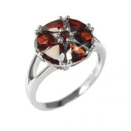 Dámský prsten s pøírodním Granátem RSG36051G