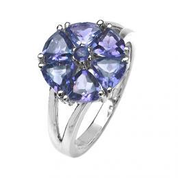 D�msk� prsten s p��rodn�m iolitem RSG36051i