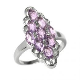 St��brn� prsten s prav�m Ametystem RSG36352A