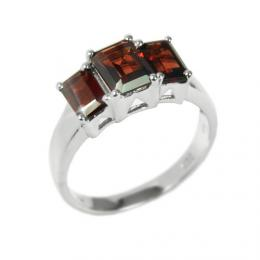 Stшнbrnэ prsten polodrahokam Granбt RSG36358G