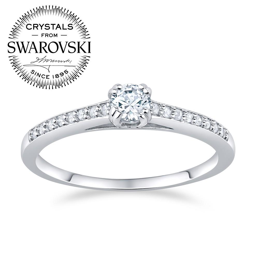 SILVEGO stříbrný prsten ATHENAIS se Swarovski(R) Crystals - zvětšit obrázek b6b7c7efa0f
