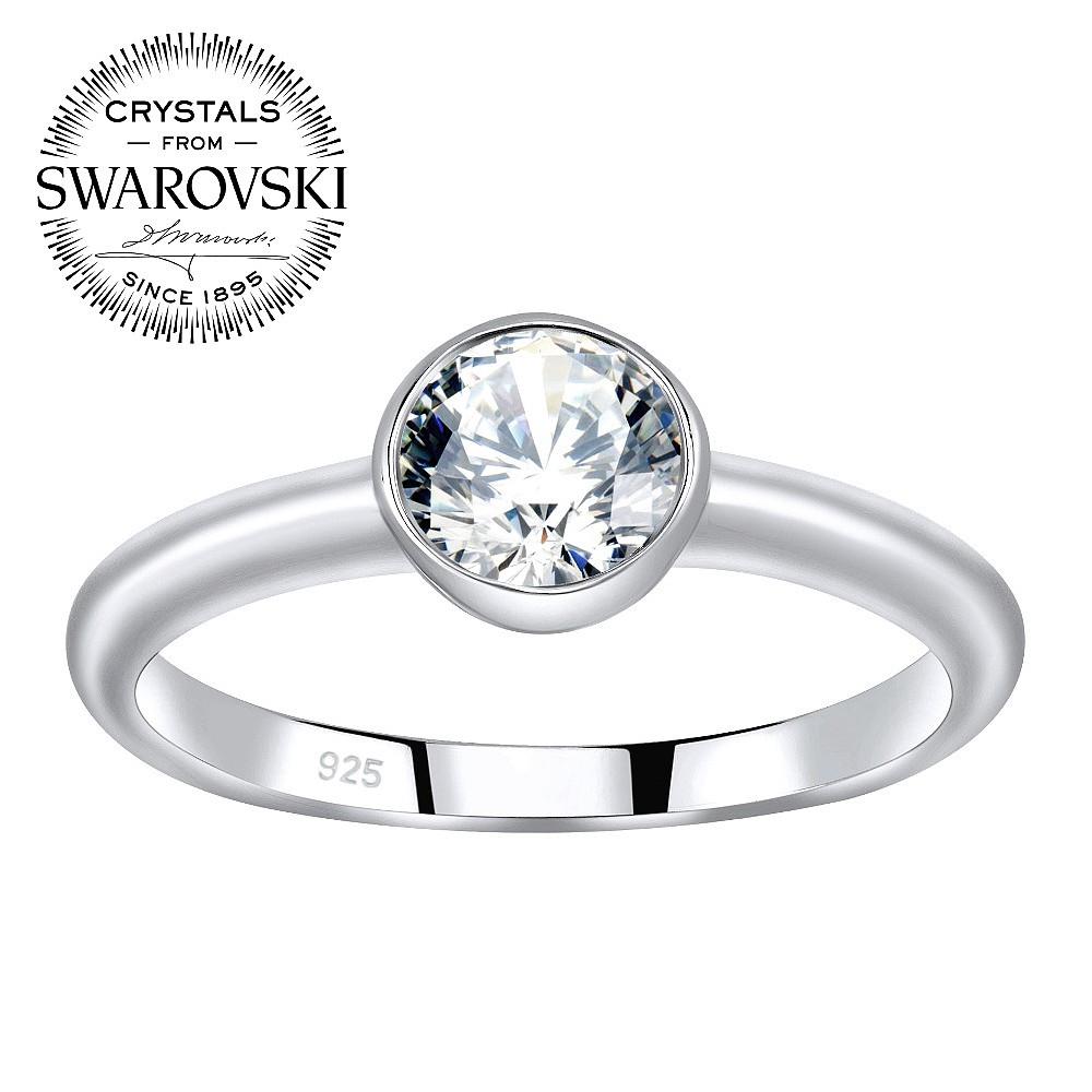SILVEGO stříbrný prsten ISADORA se Swarovski(R) Zirconia - zvětšit obrázek 6d47c90b31b