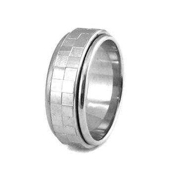 Ocelov� prsten s pohybliv�m st�edem - AKCE