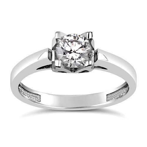 SILVEGO Stříbrný prsten se Swarovski(R) Crystals - stribro-klenoty.cz 3bb23878a70