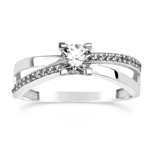 SILVEGO stříbrný originální prsten ERIN se Swarovski(R) Crystals - zvětšit  obrázek 43135658b08
