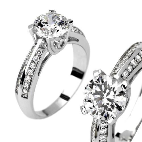 SILVEGO stříbrný prsten PROELIO se Swarovski(R) Crystals - zvětšit obrázek decea38e8a0