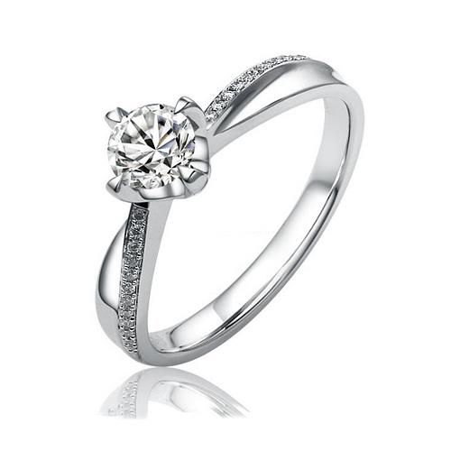 SILVEGO stříbrný originální prsten Florence se Swarovski(R) Crystals -  zvětšit obrázek 697f2ea4507