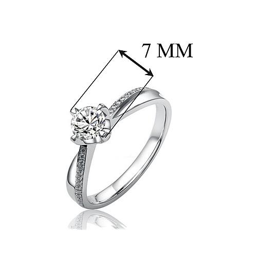 SILVEGO stříbrný originální prsten Florence se Swarovski(R) Crystals -  zvětšit obrázek. Zvětšit obrázek ... 37b937d9fec